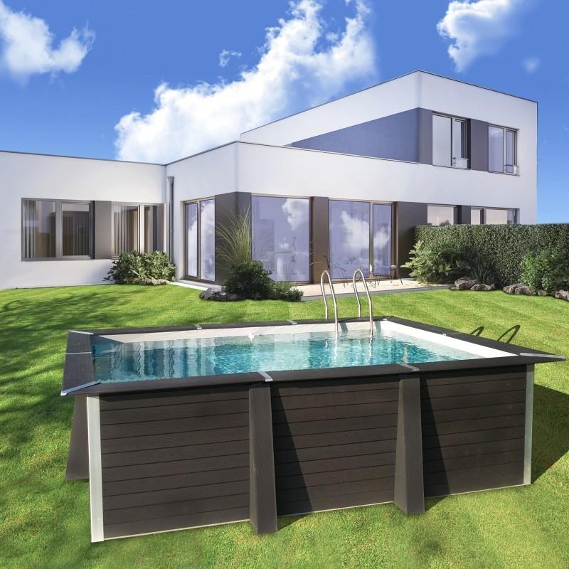 photo 3/2 panneaux toutes nos piscines ont le même visuel, juste la dimension change