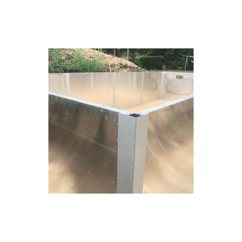 Piscine rectangle 3/2 Panneaux enterrée