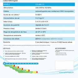 Électrolyseur colibry CC 10 60M3