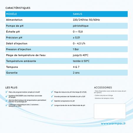 Regulateur PH SANUS